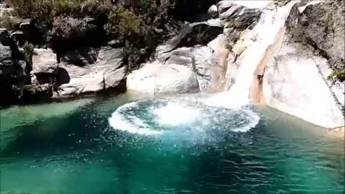 À descoberta do Poço Azul – Rio Conho